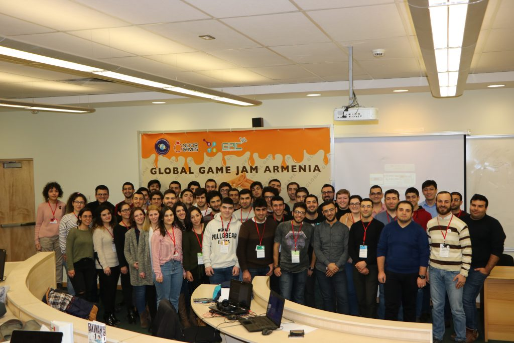 Global Game Jam Armenia 2018 participants