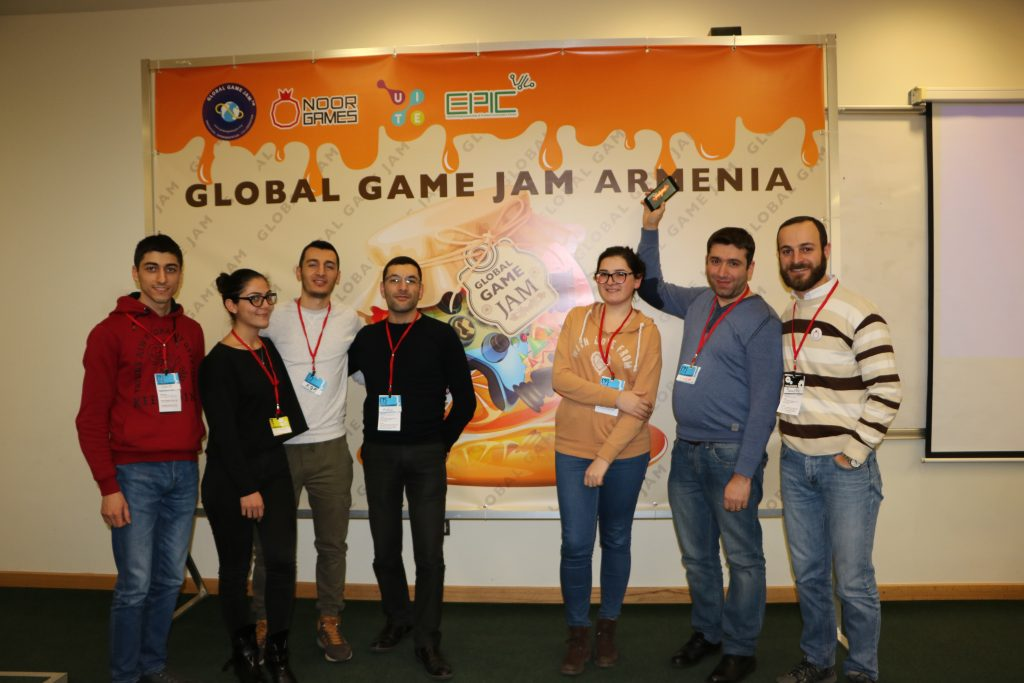 Noor Games team at GGJ Armenia 2018